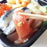 宮崎 丼丸 - たっぷり魚介
