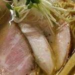 麺屋 白鷺 - 3種の鶏肉。