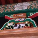 メインダイニングルーム - 日光東照宮の眠り猫