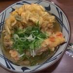 丸亀製麺 - シメの天茶