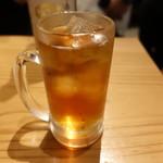 立呑みもんぞう - ☆烏龍茶で乾杯です(^o^)丿☆