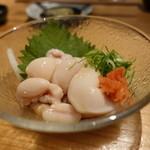 立呑みもんぞう - ☆鯛の白子ポン酢(#^.^#)☆
