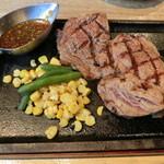 BUTCHER'S MOTHER - 牛リブステーキ1350円