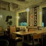 ティンバーズ カフェ ツキジ テーブル - 内観写真