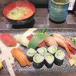 魚がし寿司 まさきよ - ランチ1,000円にぎり