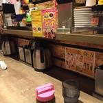1ポンドのステーキハンバーグ タケル 西中島店 - カウンター席