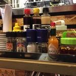 1ポンドのステーキハンバーグ タケル 西中島店 - スパイス類