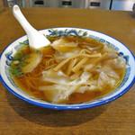 つづみそば - ワンタン麺(B)