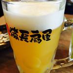 やきとりの扇屋 - パインビール