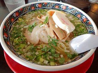 あじさい 本店 - 味彩塩拉麺;艶やかな装いがソソります(^^♪~ @2017/05/31