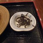 甘味処 いっぷく亭 - 塩昆布