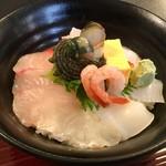 十坊 - 料理写真:【海鮮丼】サザエのやわらかいこと!