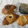 石窯ベーカリー - 料理写真:ドラパン、贅沢なパン、塩パン小豆、キャラメル芋
