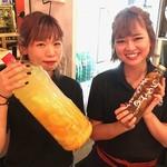 渋谷肉横丁 肉寿司 - 「私たちの手作り!」季節の漬け酎♪