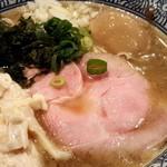 67932100 - ほのかに香る味玉煮干し中華そば(2017.05)