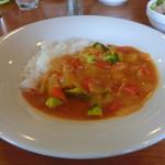 キッチントマト - まろやか野菜カレーライス