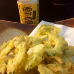 しーさ - ゴーヤの天ぷら
