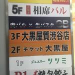 肉バル×生パスタ GB - 見つけた看板