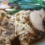 尾道ラーメン山長 - 麺とにくアップ