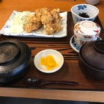 日本料理 黒潮 - 唐揚げ定食       ¥702(税込価格)