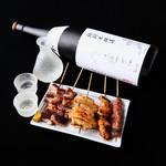ネオ大衆串焼酒場 ぽるころっそ - 焼きたての串焼きでもう一杯!