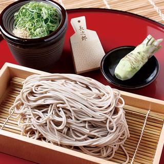 蕎麦処山形からとりよせ関西出汁で仕上げた【鴨せいろ蕎麦】