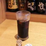 ゑぐち屋 - サービスのアイスコーヒー☆