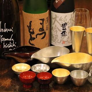 お料理とご一緒にこだわりの日本酒を!!