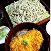 須坂屋そば - 料理写真:【ランチメニュー 11:30~14:00】カツカレー丼セット(カツカレー丼+そば)  最強コンビ!みんな大好き♪※冷たいそばと温かいそば、どちらかお選びください。※ランチはご飯の大盛り無料です♪