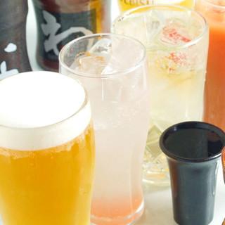 地酒、焼酎含むドリンクが種類豊富!