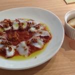 麻屋 - タコのカルパッチョ