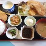 お食事処 かいがん - 魚フライ定食 980円(税別)