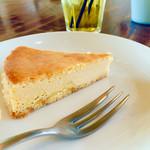 シティー カントリー シティ - かぼちゃのチーズケーキ 500円