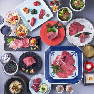 黒毛和牛を味わう飲み放題付宴会コース全12品6000円~