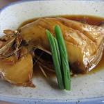 魚正 - 刺身定食(煮魚) 1300円 (2017.5)