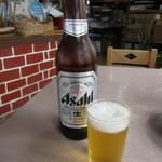 魚正 - 瓶ビール(大瓶) 650円 (2017.5)