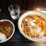 文殊 - そば定食 520円