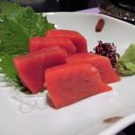 魚棚ふみ文 - 赤身の刺身