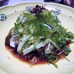 魚棚ふみ文 - タコとサラダ