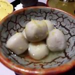 魚棚ふみ文 - 里芋の煮物
