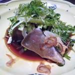 魚棚ふみ文 - カツオ