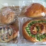 ジョーヌブラン - 料理写真:購入パン