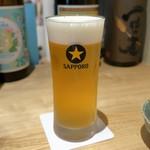 サケトサカナ - 生ビール