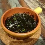 スペインバル セロナ - イカの墨煮