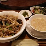 香港酒家 富紀 - 料理写真:Bランチ。