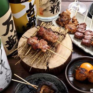 ◇◆こだわりの鹿児島産豚肉を使った串がリーズナブル◆◇