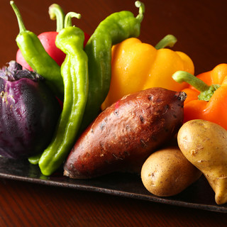 厳選仕入れした季節の京野菜