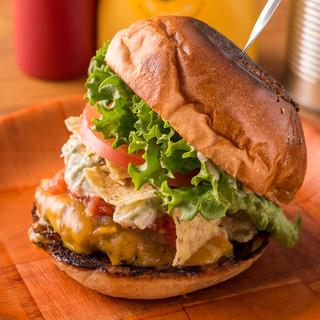 【小麦】【野菜】【牛】道産素材にこだわったハンバーガー