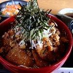 亜和膳 - チャーシュー丼定食 2
