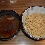 吟醸らーめん 久保田 本店 - 味噌つけ麺(並)250g 850円